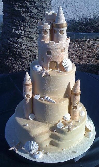 Beach Wedding Cakes 1